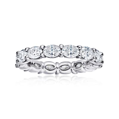 3.60 ct. t.w. Diamond Eternity Wedding Band in Platinum