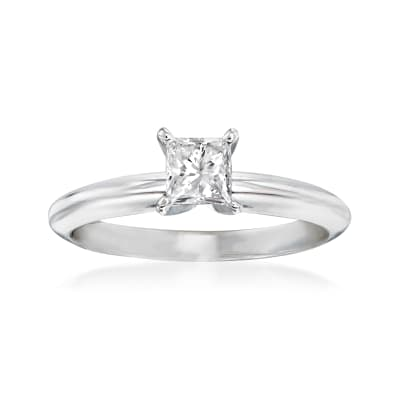 .47 Carat Diamond Solitaire Ring in 14kt White Gold