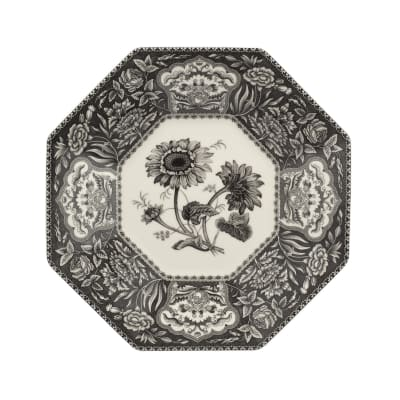 """Spode """"Heritage"""" Floral Octagonal Platter"""