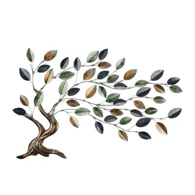 Regal Metallic Tree of Life Wall Decor