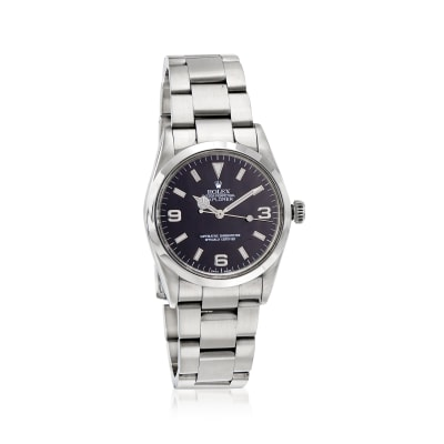 Pre-Owned Rolex Explorer Men's 36mm Automatic Stainless Steel Watch
