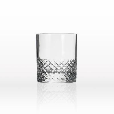"Rolf Glass ""Diamond"" Set of 4 on the Rocks Glasses"