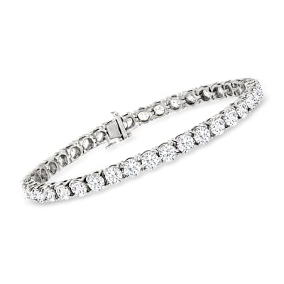 12.00 ct. t.w. Diamond Tennis Bracelet in 14kt White Gold