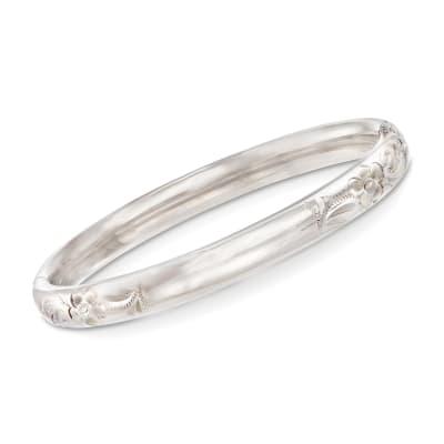 Baby's Sterling Silver Bangle Bracelet