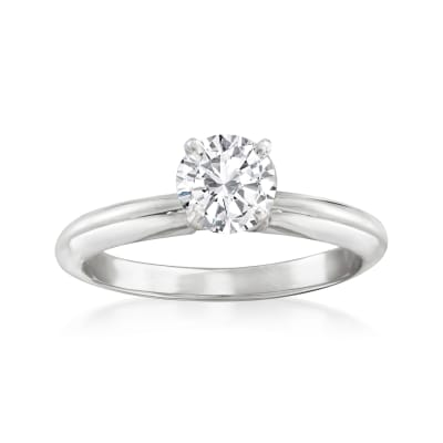 .51 Carat Certified Diamond Solitaire Engagement Ring in 14kt White Gold