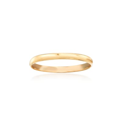 Baby's 14kt Yellow Gold Band Ring