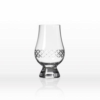 "Rolf Glass ""Diamond"" Set of 4 Scotch Glencairn Glasses"