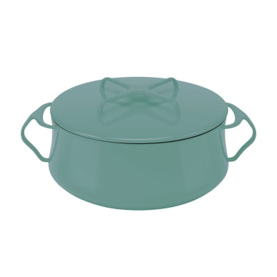 "Dansk ""Kobenstyle"" Teal Casserole Pot with Lid"