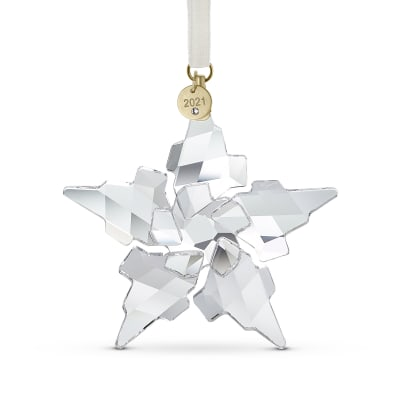 Swarovski Crystal 2021 Annual Crystal Snowflake Ornament