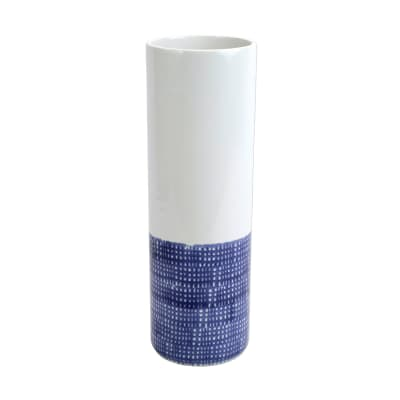 "Vietri ""Santorini"" Geo Tall Vase"