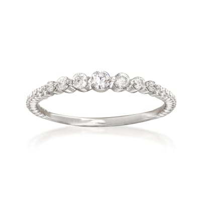.20 ct. t.w. Diamond Ring in Sterling Silver