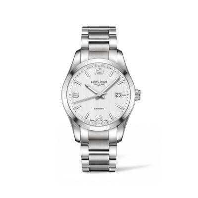 Longines Conquest Classic Men's 40mm Automatic Stainless Steel Watch