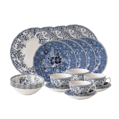 "Johnson Brothers Wedgwood ""Devon Cottage"" Earthenware Dinnerware"