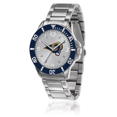 Men's 46mm NFL La Rams Stainless Steel Key Watch