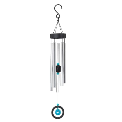 Regal Turquoise Healing Stone Wind Chimes