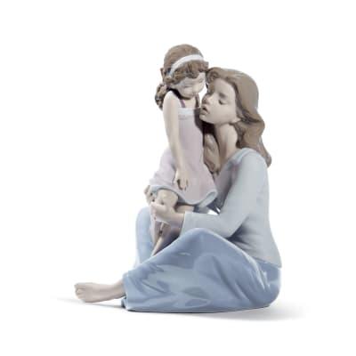 """Lladro """"Mommy's Little Girl"""" Porcelain Figurine"""
