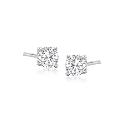 .33 ct. t.w. Diamond Stud Earrings in Platinum