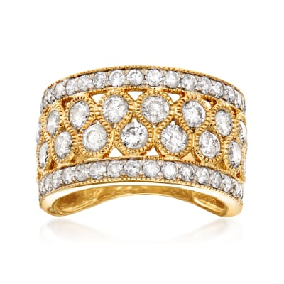3.00 ct. t.w. Diamond Ring in 14kt Yellow Gold