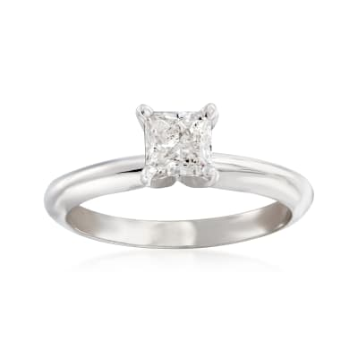 .70 Carat Certified Diamond Solitaire Engagement Ring in 14kt White Gold