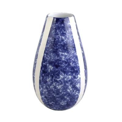 """Vietri """"Santorini"""" Sponged Vase"""