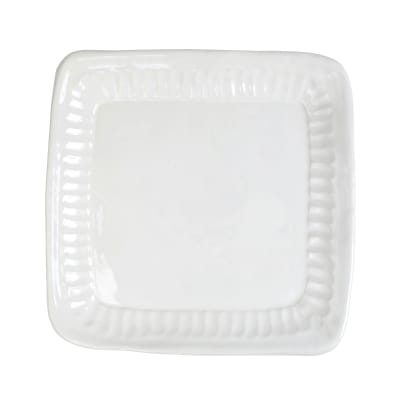 "Vietri ""Pietra Serena"" Square Platter from Italy"