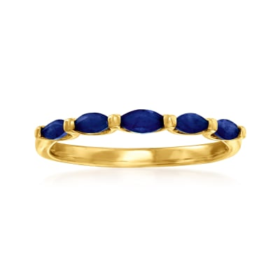 .40 ct. t.w. Sapphire Ring in 14kt Yellow Gold
