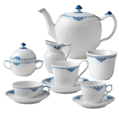 "Royal Copenhagen ""Princess"" Tea Service"