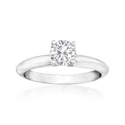 .64 Carat Diamond Solitaire Ring in 14kt White Gold