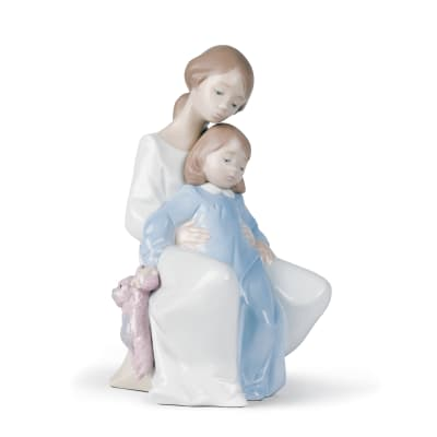 "Nao ""A Moment with Mommy"" Porcelain Figurine"
