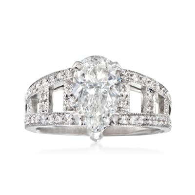 Majestic Collection 2.63 ct. t.w. Diamond Ring in 18kt White Gold