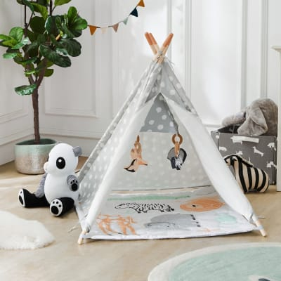 Baby-To-Child Safari Activity Tent and Play Mat