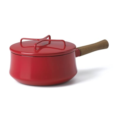 "Dansk ""Kobenstyle"" Chili Red Saucepan with Lid"