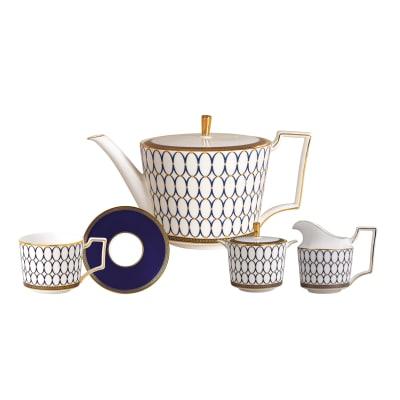 "Wedgwood ""Renaissance Gold"" Tea Service"