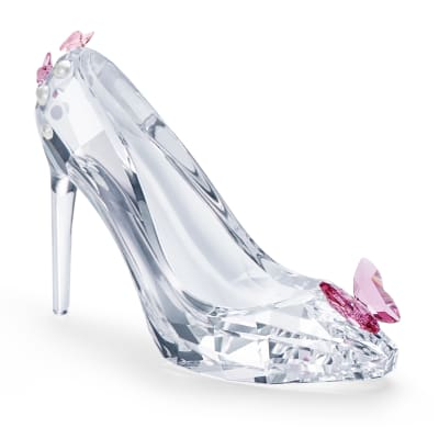 "Swarovski Crystal ""Moments"" Shoe with Butterfly Figurine"