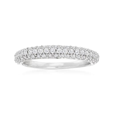 .50 ct. t.w. Diamond Pave Ring in Sterling Silver