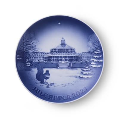 Bing & Grondahl 2021 Annual Porcelain Christmas Plate - 127th Edition