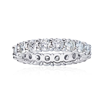 2.60 ct. t.w. Diamond Wedding Eternity Band in 14kt White Gold