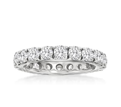 3.00 ct. t.w. Diamond Eternity Band in 14kt White Gold