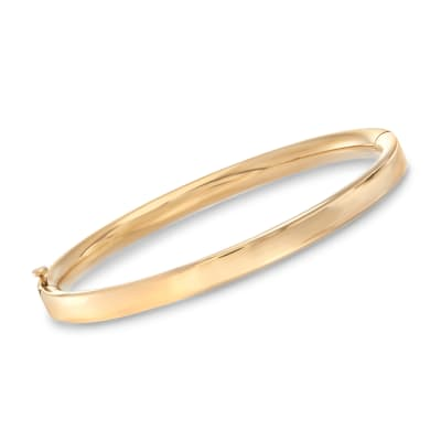 Baby's 14kt Yellow Gold Bangle Bracelet