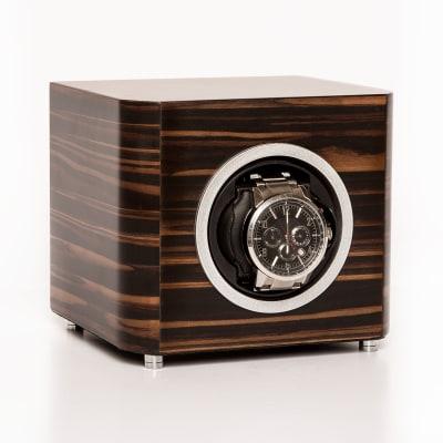 Brouk & Co. Matte Ebony Wooden Watch Winder