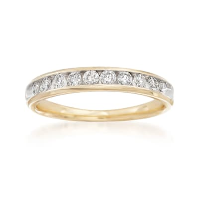.50 ct. t.w. Diamond Wedding Ring in 14kt Yellow Gold