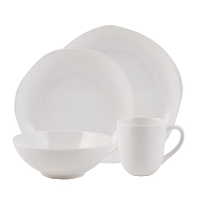 "Fitz and Floyd ""Organic"" 16-pc. Service for 4 Dinnerware Set"