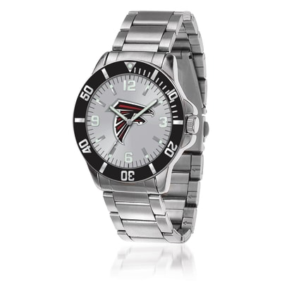 Men's 46mm NFL Atlanta Falcons Stainless Steel Key Watch