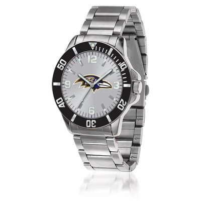 Men's 46mm NFL Baltimore Ravens Stainless Steel Key Watch
