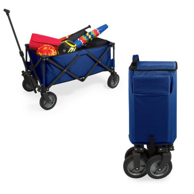Navy Blue Adventure Portable Utility Wagon