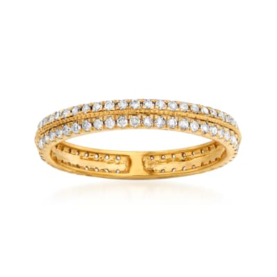 .50 ct. t.w. Diamond Double-Row Eternity Band in 14kt Yellow Gold