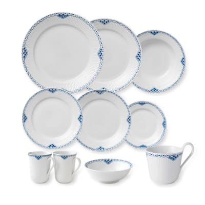 "Royal Copenhagen ""Princess"" Dinnerware Set"