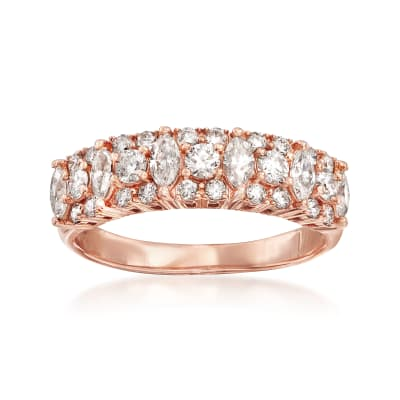 1.00 ct. t.w. Diamond Ring in 14kt Rose Gold