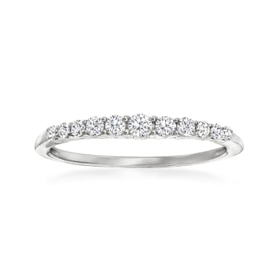 .25 ct. t.w. Diamond Graduated Ring in 14kt White Gold