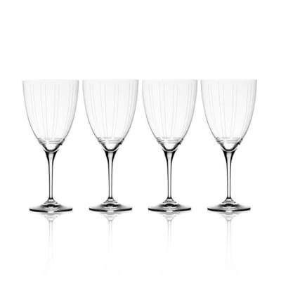 "Mikasa ""Berlin"" Set of 4 Red Wine Glasses"